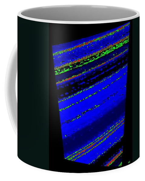 Abstract Coffee Mug featuring the digital art Harmony 34 by Will Borden