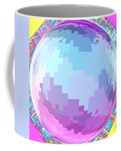 Abstract Coffee Mug featuring the digital art Harmony 4 by Will Borden