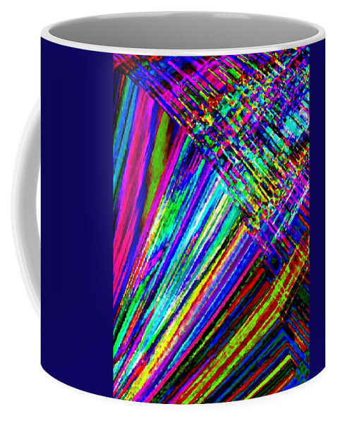 Abstract Coffee Mug featuring the digital art Harmony 40 by Will Borden