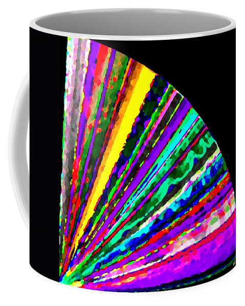Abstract Coffee Mug featuring the digital art Harmony 7 by Will Borden