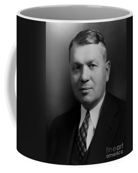 Science Coffee Mug featuring the photograph Harold Urey, American Chemist by Science Source
