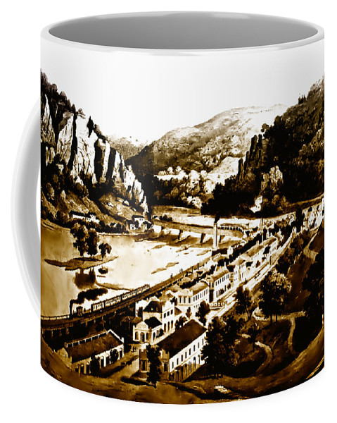 Harpers Ferry Coffee Mug featuring the photograph Harpers Ferry by Bill Cannon