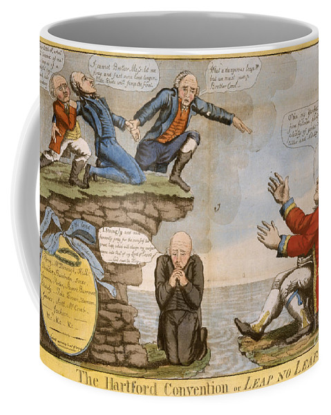 1814 Coffee Mug featuring the photograph Hartford Convention, C1814 by Granger