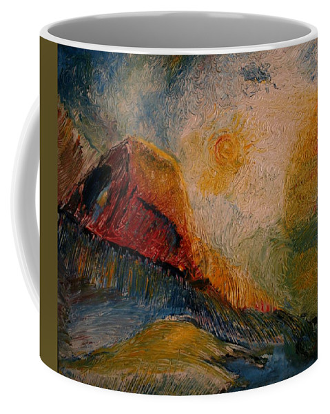 Rede Coffee Mug featuring the painting Harvast by Jack Diamond