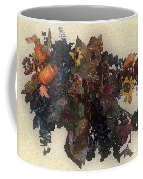 Autumn Coffee Mug featuring the painting Harvest Home by RC deWinter