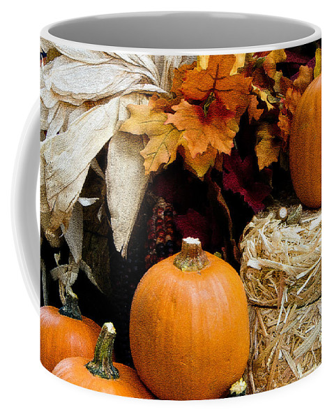 Autumn Coffee Mug featuring the photograph Harvest by Lana Trussell