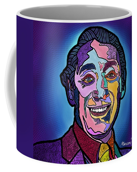Harvey Milk Coffee Mug featuring the digital art Harvey Milk I Recruit You by Marconi Calindas