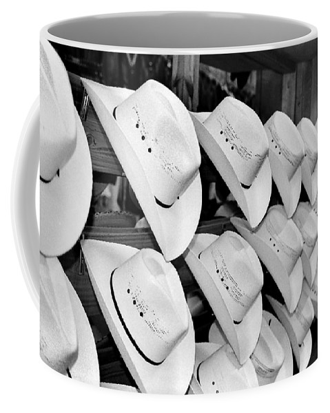 Hat Coffee Mug featuring the photograph Hat And Boot Store Nashville Tn by Joseph Mari