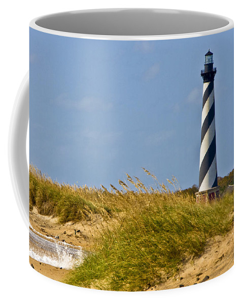 Ocean Coffee Mug featuring the photograph Hatteras Lighthouse by Ches Black
