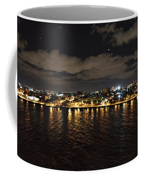 Cuba Coffee Mug featuring the photograph Havana Nights by Sharon Popek