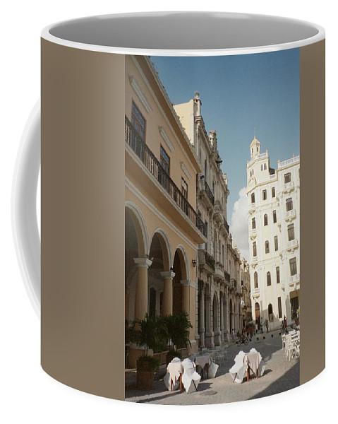 Photo Coffee Mug featuring the photograph Havana Vieja by Quin Sweetman