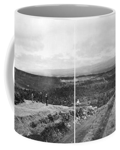 1902 Coffee Mug featuring the photograph Hawaii: Volcano House by Granger