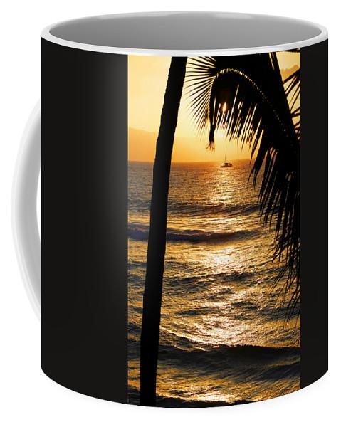 Hawaii Coffee Mug featuring the photograph Hawaiin Sunset by Marilyn Hunt