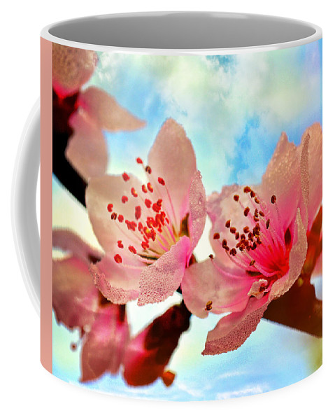 Flowers Coffee Mug featuring the photograph Hawthornes by Marty Koch