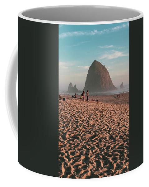 Beach Coffee Mug featuring the photograph Haystack by Scott DaLuz