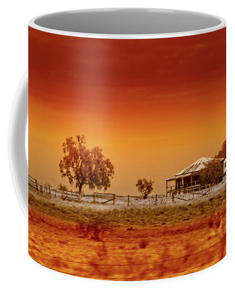 Landscapes Coffee Mug featuring the photograph Hazy Days by Holly Kempe