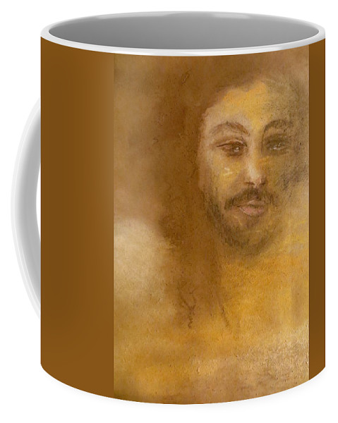 Religious Coffee Mug featuring the painting He Knows by C Pichura