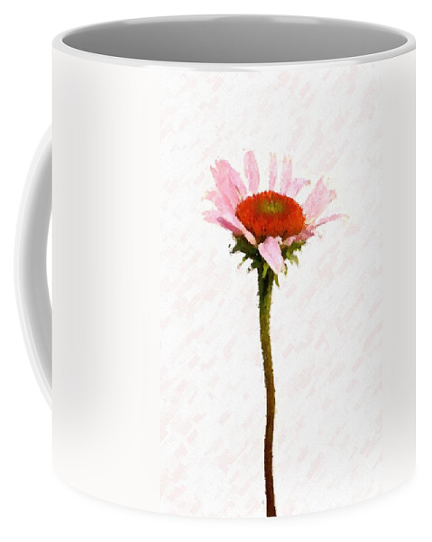 Caulk Coffee Mug featuring the photograph He Loves Me He Loves Me Not by Angie Tirado