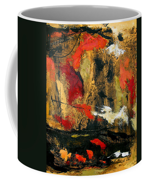 Coffee Mug featuring the painting He Reigns Supreme Forever II by Ruth Palmer