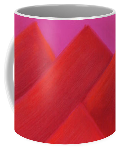 He Tu Coffee Mug featuring the painting He Tu Fire by Adamantini Feng shui