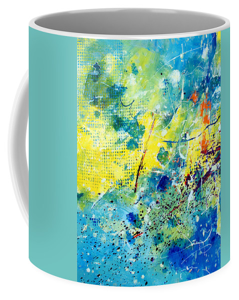 ruth Palmer Coffee Mug featuring the painting He Watches Over Me by Ruth Palmer