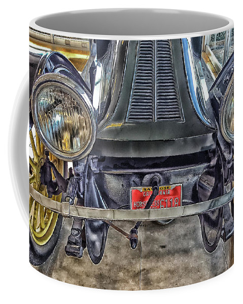 Vintage Auto Coffee Mug featuring the photograph Headlights by Danny Chavez Sr