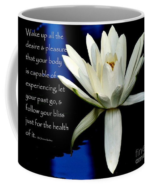 Heal Coffee Mug featuring the photograph Healing Lily by Lisa Renee Ludlum
