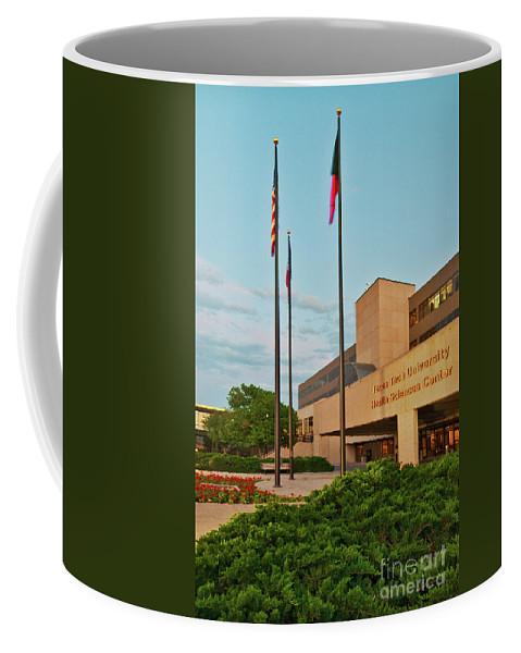 Health Sciences Medical Center Coffee Mug featuring the photograph Health Sciences Medical Center by Mae Wertz
