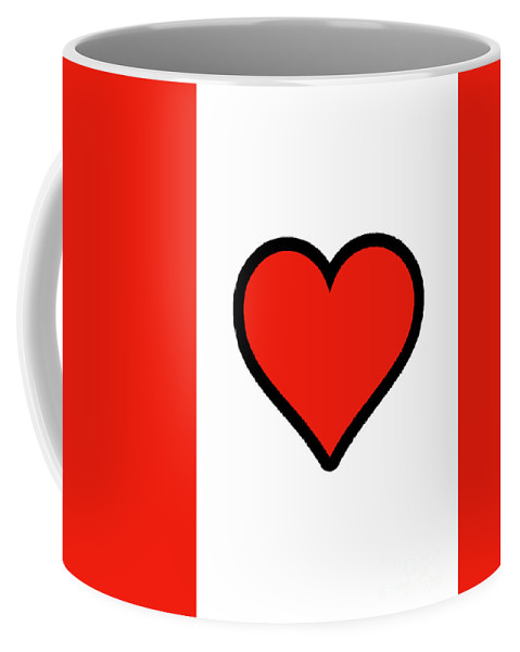 Heart Coffee Mug featuring the photograph Heart by Melissa Fague