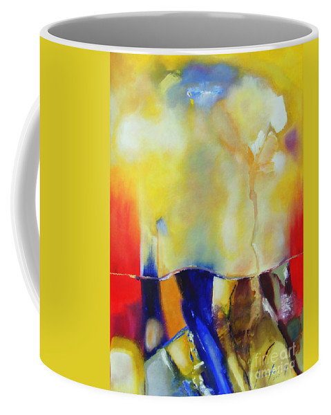 Heaven Coffee Mug featuring the painting Heaven On Earth by Jennifer Van Niekerk