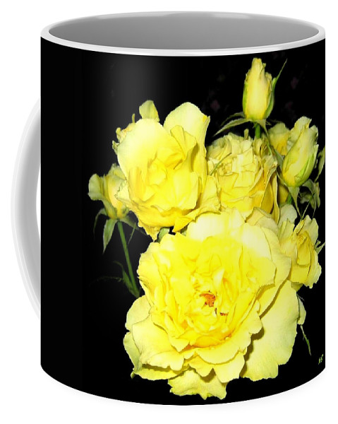 Roses Coffee Mug featuring the photograph Heaven Scent by Will Borden