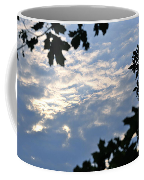Sunshine Coffee Mug featuring the photograph Heaven's Portal by Penny Neimiller