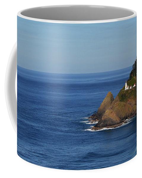 Lighthouse Coffee Mug featuring the photograph Heceta Head, Oregon by Todd Bartush