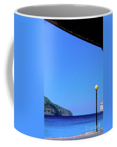 Hellenic Coffee Mug featuring the photograph Hellenic dream by Silvia Ganora