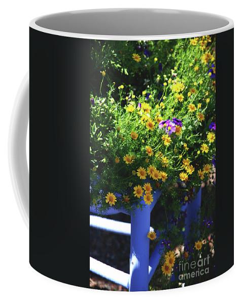 Chair Coffee Mug featuring the photograph Hello Sunshine by Susanne Van Hulst