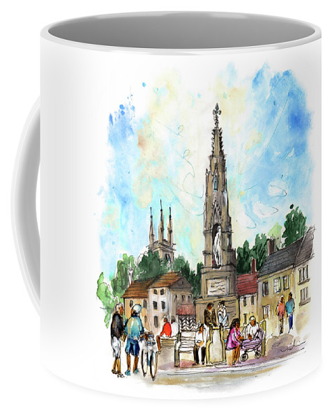 Travel Coffee Mug featuring the painting Helmsley 03 by Miki De Goodaboom