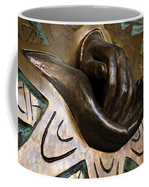 Italy Coffee Mug featuring the photograph Helping Hands by Marilyn Hunt