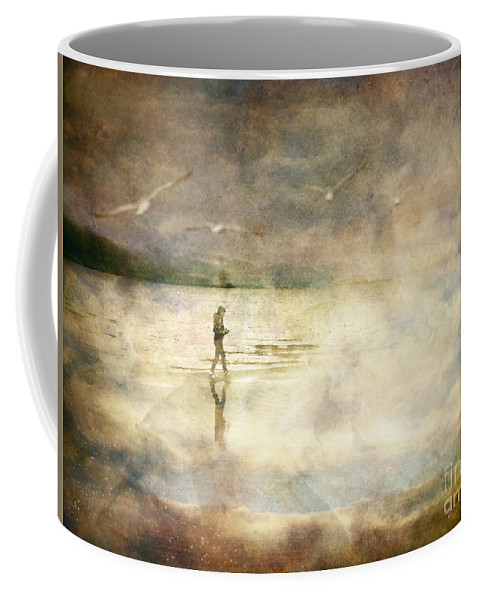 Birds Coffee Mug featuring the photograph Helpless by Tara Turner