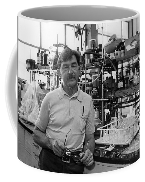 Science Coffee Mug featuring the photograph Henry Taube, Canadian-american Chemist by Science Source