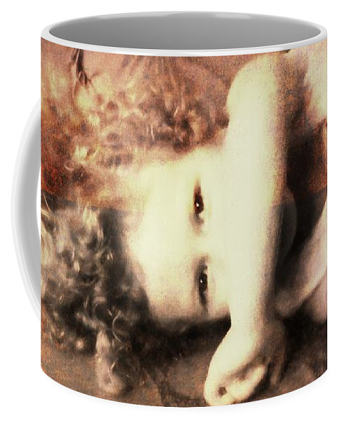 Girl Coffee Mug featuring the photograph Her Eyes by Alice Gipson