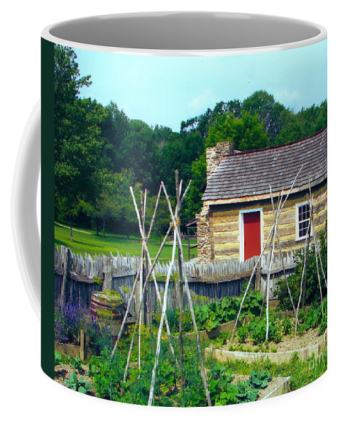 Garden Coffee Mug featuring the photograph Herb And Vegetable Garden by Penny Neimiller