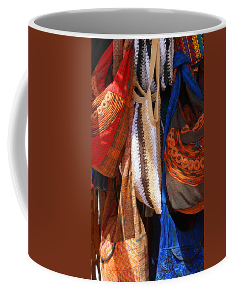 Purse Coffee Mug featuring the photograph Here A Purse There A Purse by Jean Haynes