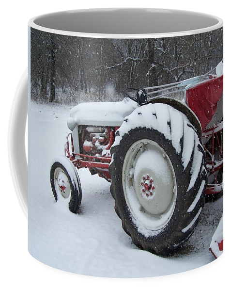 Tractor Coffee Mug featuring the photograph Herman by Gale Cochran-Smith