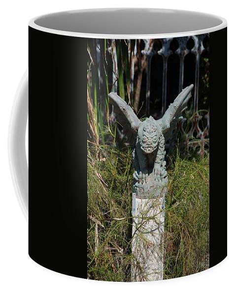 Gargoyle Coffee Mug featuring the photograph Herman Gargoyle by Rob Hans
