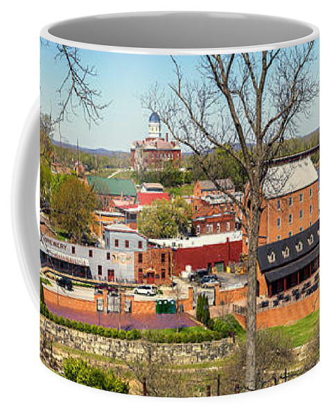 Hermann Coffee Mug featuring the photograph Hermann Mo Panoramic_dsc3992 by Greg Kluempers