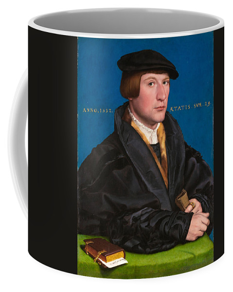 Hans Holbein The Younger Coffee Mug featuring the painting Hermann Von Wedigh IIi by Hans Holbein the Younger