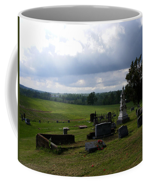 Landscape Coffee Mug featuring the photograph Heroes Of Olmsted by Rachel Christine Nowicki