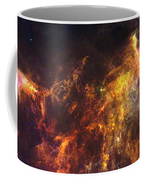 Esa Coffee Mug featuring the photograph Herschel's View Of The Horsehead Nebula by Nasa
