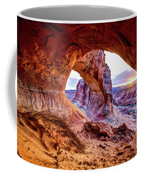 Hidden Coffee Mug featuring the photograph Hidden Alcove by Chad Dutson