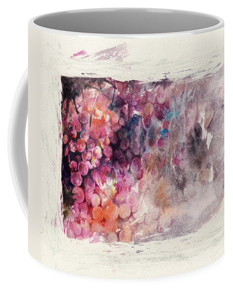 Grapes Coffee Mug featuring the painting Hidden Beauty by Rachel Christine Nowicki